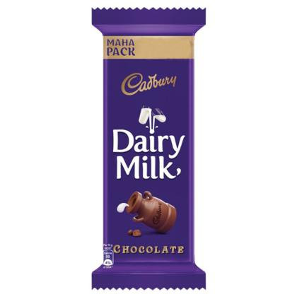 Cadbury Dairy Milk Chocolate Bar 52 g (Value Pack)