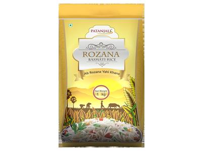 Patanjali Rozana Basmati Rice 1 Kg