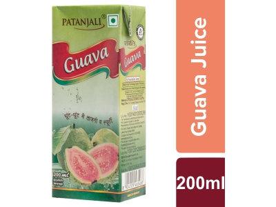 Patanjali Guava Juice 200 Ml