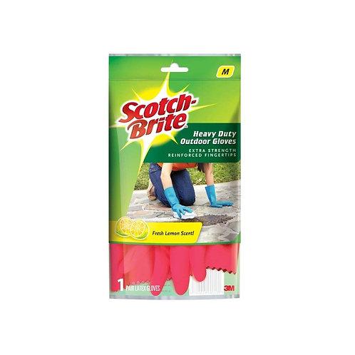 ScotchBrite Heavy Duty Gloves (Medium)