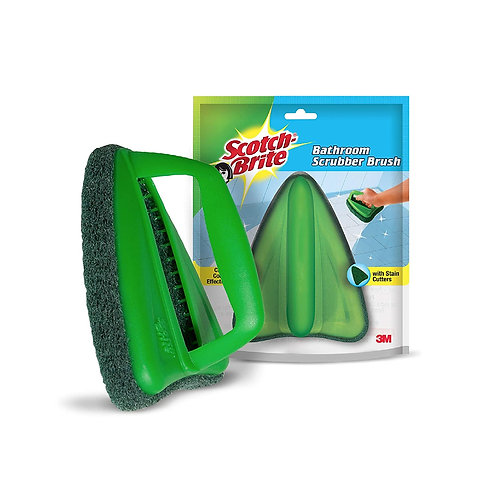 ScotchBrite Bathroom Scrubber Brush Green