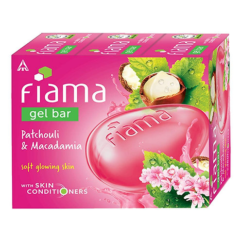 Fiama Gel Bar Patchouli and Macadamia