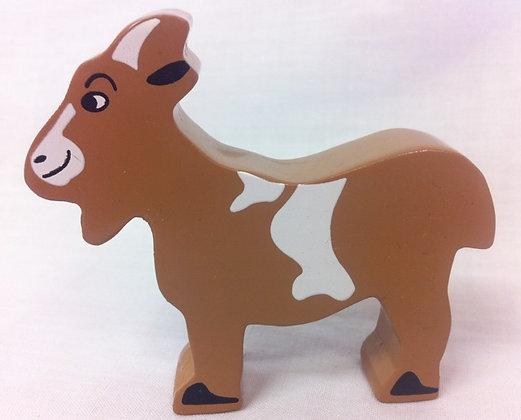 Fair Trade Wooden Goat