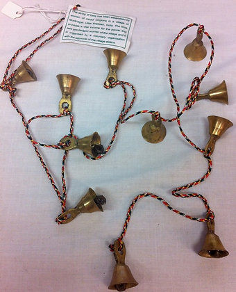 Fair Trade Brass Fairy Bells