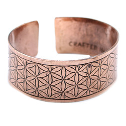 Hand made in Nepal Flower of life design