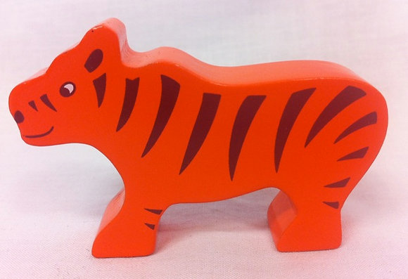 Fair Trade wooden Tiger