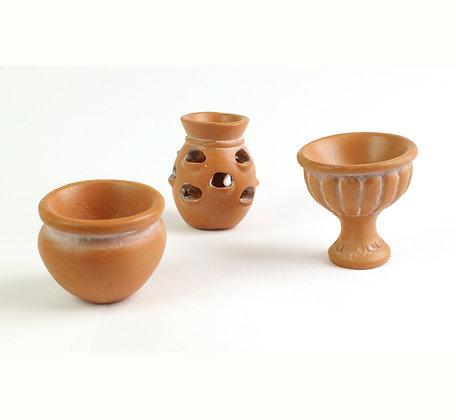 Terracotta Pots (3pcs)