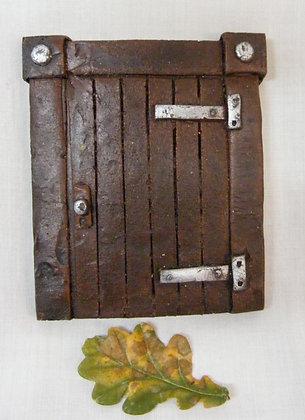 Brown Hobbit Fairy Door