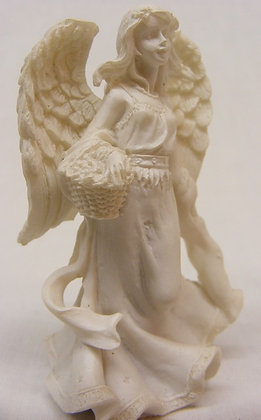 Angel Statuette With basket