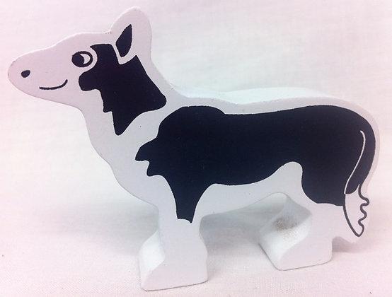 Fair Trade wooden sheep dog