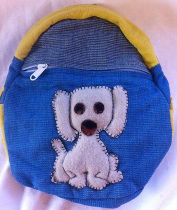 Fair Trade Doggy Rucksack.