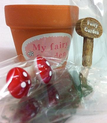 Miniature Fairy Garden Set