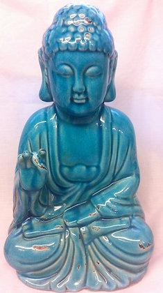 Ceramic Turquoise Buddha