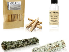 Space Clearing Kit for Removing Negative Energy