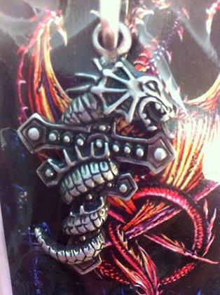 Metal Dragon Pendent 2