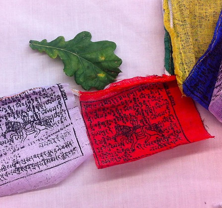 Fair Trade Mini Prayer Flags