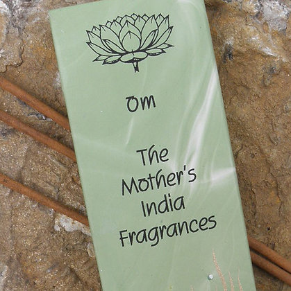 Om Incense Fair Trade Mothers India