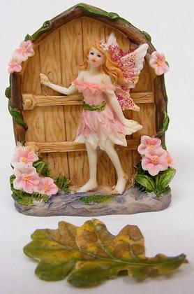 Fairy Door With Pink Fairy