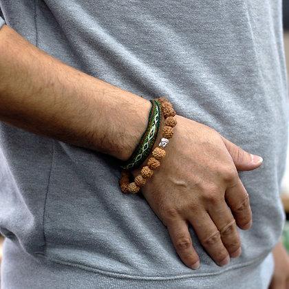 Rudrakshra Bracelet - Natural