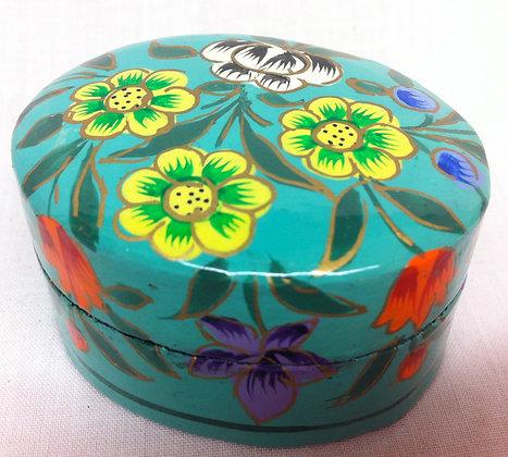 Fair Trade Turquoise Mini Pot