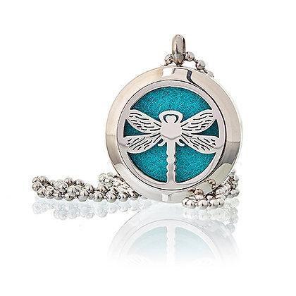 Aromatherapy Dragonfly Necklace