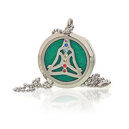Yoga Chakra Aromatherapy Necklace