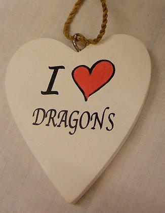 Fair Trade I love Dragons