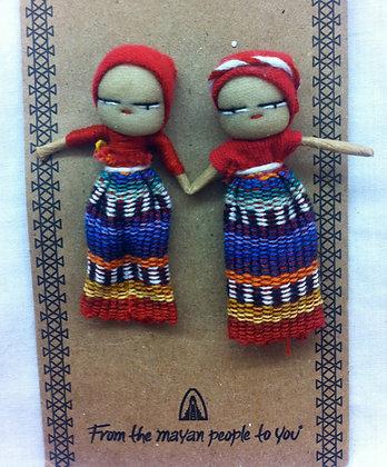 Fair Trade Friendship Worry Dolls