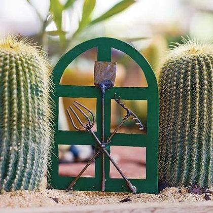 Fairy Garden Green Gate