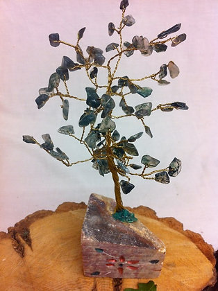 Moss Agate Gem Tree 1