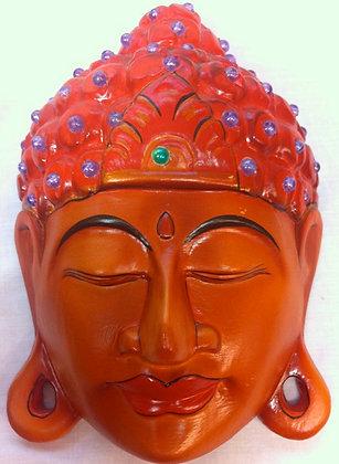 Fair Trade Wooden Buddha Head