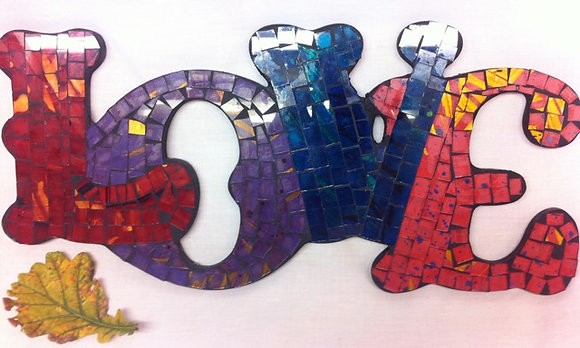 Fair Trade LOVE Mosaic