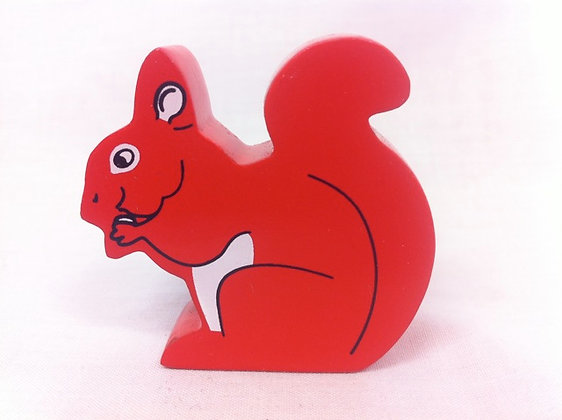 Fair Trade Wooden Squirrel