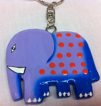 Fair Trade Ele Keyring