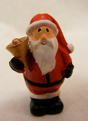 Mini Father Christmas with bell
