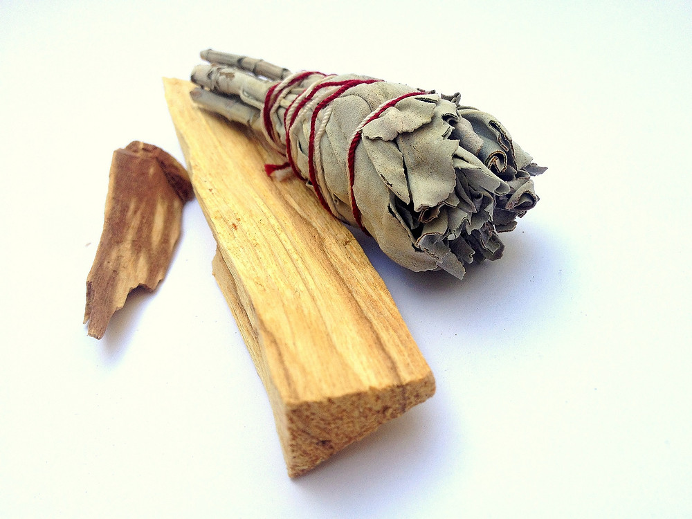 Palo Santo and White Sage for Space Clearing