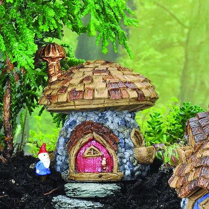 Micro-Mini Shingletown Mushroom House