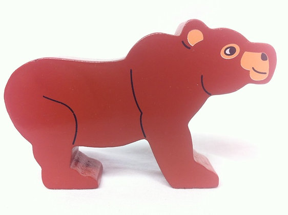 Fair Trade Wooden Bear