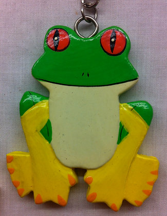 Fair Trade Frog Keyring