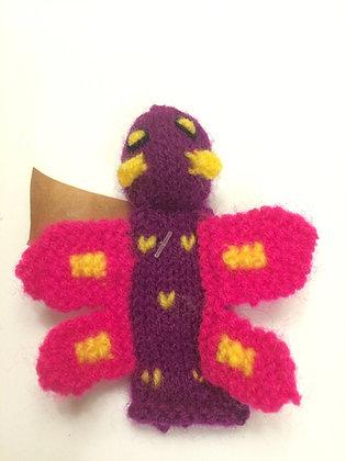 Handmade Butterfly Finger Puppet