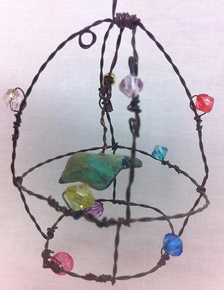 Jewelled birdcage