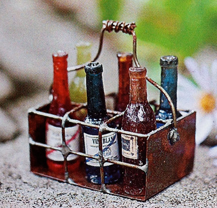 Miniature Crate of Wine