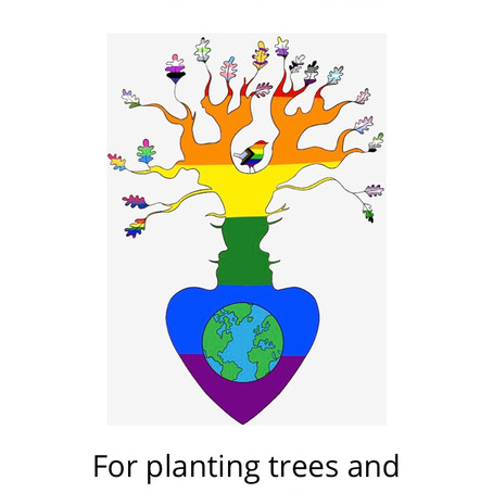 Jack In The Green Tree Planting with and Ancient and Sacred Trees