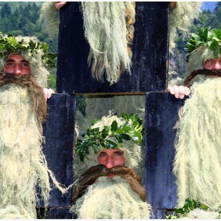 Wilde-Mändle-Tanz Oberstdorf -Wild Men