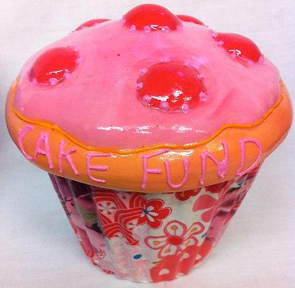 Cup Cake Trinket Pot