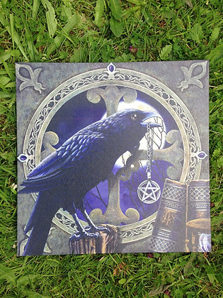 Crow/Raven and Pentacle
