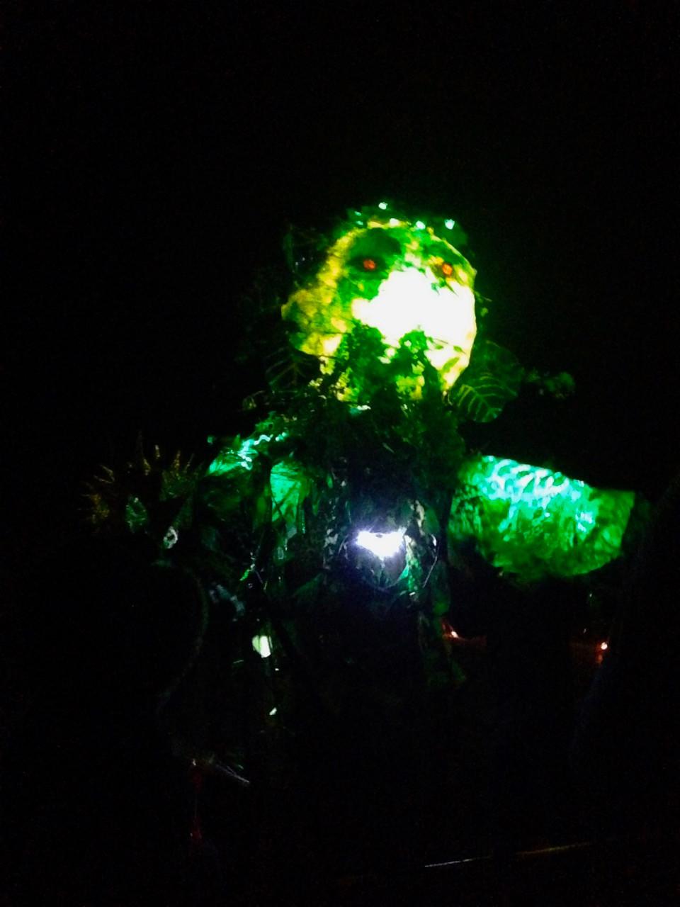 Green Man gigant Puppet Marsden