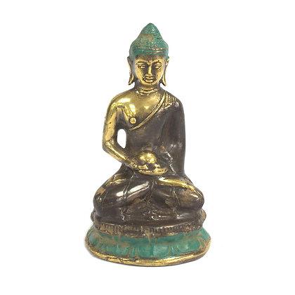 Meditating Hand Made Buddha