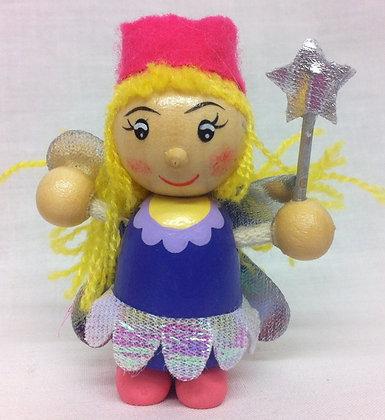 Handmade Wooden Fairy