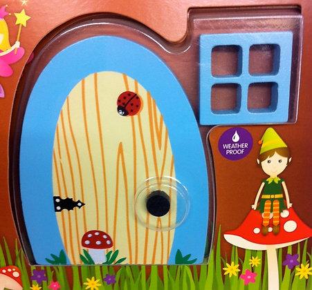 Blue Garden Fairy Door